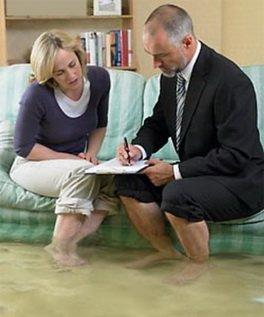 Експертна оцінка збитків при затопленні приміщень